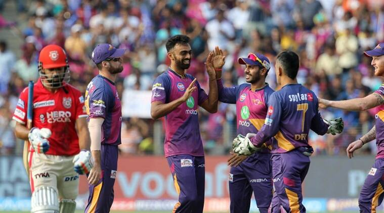 Jaydev Unadkat triggered the collapse