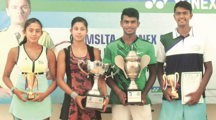 tennis under 16 winners, under 16 tennis tournament, mslta, junior national under 16 tennis, tennis news, indian express