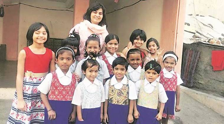 pune, pune uniform, pune Art of Giving, pune uniform donation, pune news, indian express news