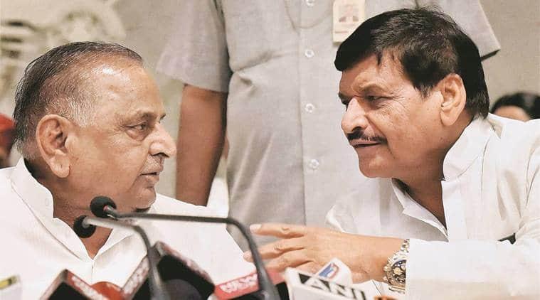 Shivpal Yadav, Akhilesh Yadav, Mulayam Singh Yadav, Samajwadi Secular Morcha, Samajwadi party, anti-BJP alliance, Lok sabha elections, general elections 2019, Uttar Pradesh news, indian express