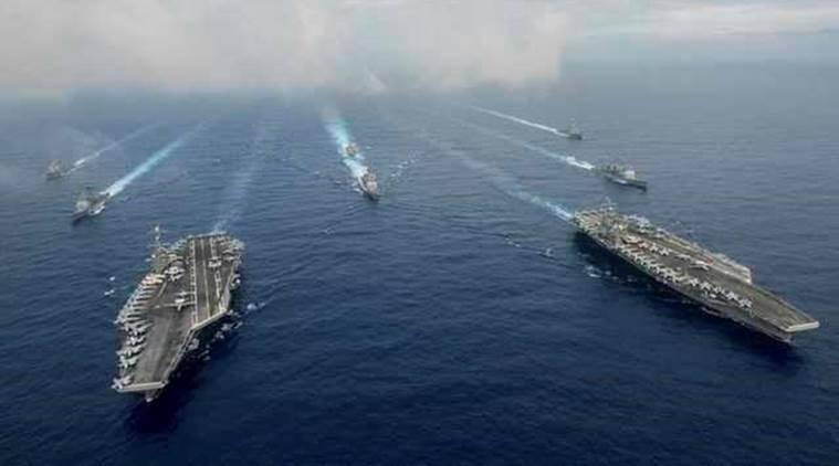 US navy, US and South Korea, US and North Korea news, North Korea missile program, North Korea-US tension, North Korea-US relations, US news, foreign affairs, World news, International news