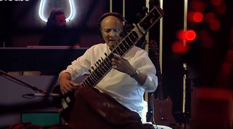 Ustad Raees Khan, sitar player, pakistani sitar player, indian express, indian express news