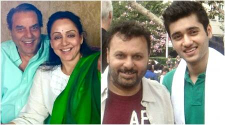 Dharmendra, Hema Malini wish director Anil Sharma's son Utkarsh ahead of his Bollywood debut in Genius