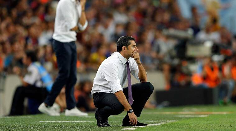 Ernesto Valverde, Barcelona manager, FC Barcelona, Valverde Barcelona manager, football news, sports news, indian express