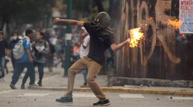 Venezuela protests Venezuela protests in venezuela venezuela violence venezuela president world news