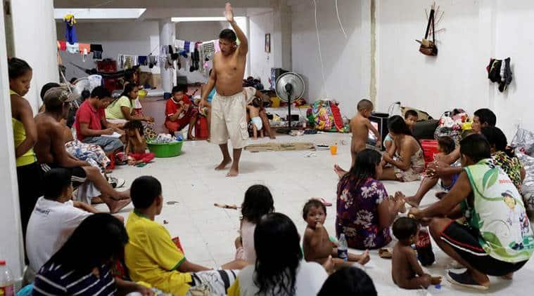 venezuela, venezuela refugees, venezuela brazil, brazil venezuelan refugees, indian express news, venezuela news