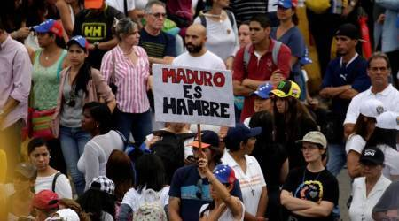 Venezuela opposition leaders wounded in march against President NicolasMaduro