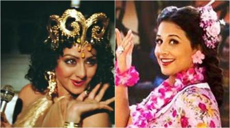 Vidya Balan to dance to Sridevi's iconic number Hawa Hawai in Tumhari Sulu