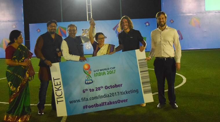 carles puyol, fifa u-17 world cup, u-17 world cup, india fifa u-17 world cup, carles puyol india, fifa u-17 world cup india, fifa world cup india, football news, sports news, indian express