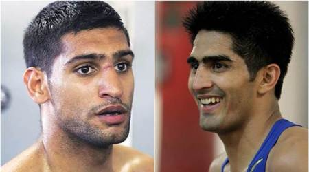 Vijender Singh hasn't won even half a major title, says Amir Khan