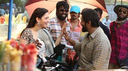 Sketch behind-the-scenes: Vikram's upcoming film with Tamannaah is shaping up well. Seepics