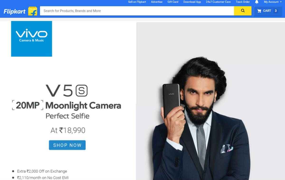 Vivo V5s Flipkart sale today: Here's what you need to know