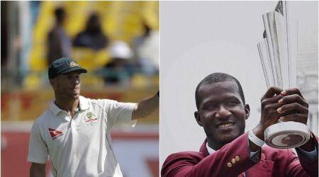 david warner, cricket australia, australia david warner, david warner australia, darren sammy, darren sammy west indies, west indies cricket board, cricket news, cricket, sports news, indian express