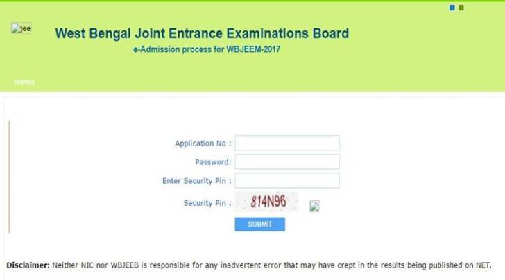 wbjee 2017, wbjeeb.nic.in, wbjee 2017 answer keys, wbjee 2017 results, West Bengal Joint Entrance Examination Board, joint entrance exam