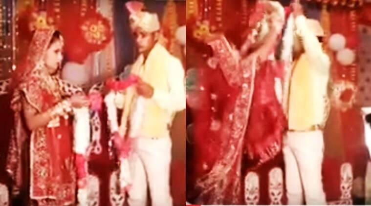 indian wedding, indian wedding viral bloopers, indian wedding bloopers, indian wedding bride and groom bloopers, indian wedding hilarious bloopers, indian wedding hilarious bloopers, indian express, indian express news