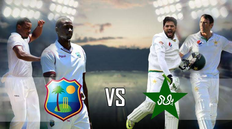 West Indies vs Pakistan, Pak vs WI, Live cricket score, West Indies vs Pakistan live cricket score, cricket live score West Indies vs Pakistan, West Indies vs Pakistan, Live score, Misbah-ul-haq, Younis khan, live streaming, West Indies vs Pakistan live streaming, West Indies vs Pakistan cricket score, sports news, sports, cricket news, Cricket, Indian Express