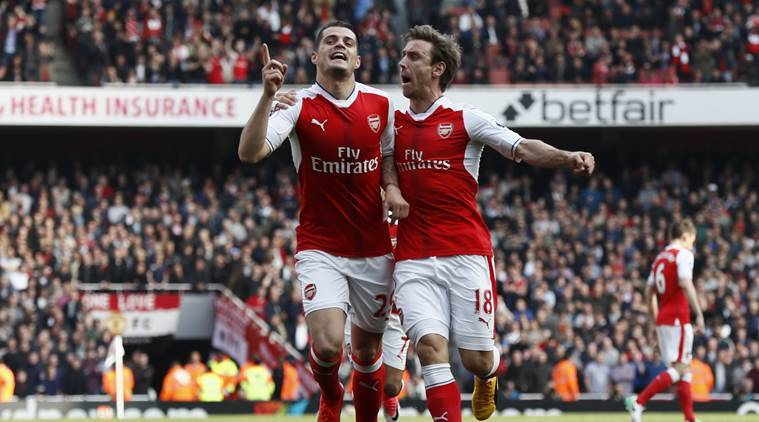 Arsenal end Manchaster United's winning streak