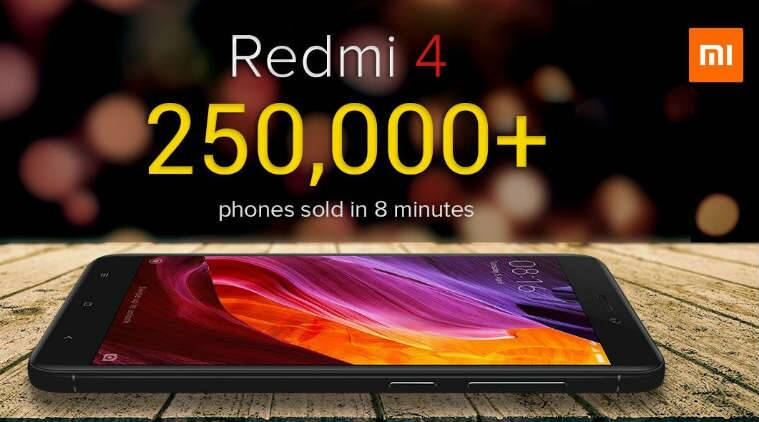 Xiaomi Redmi 4 Goes on Sale Tomorrow: Specifications and Offer Details