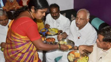 Yeddyurappa having food at Dalits' houses a 'drama': CM Siddaramaiah