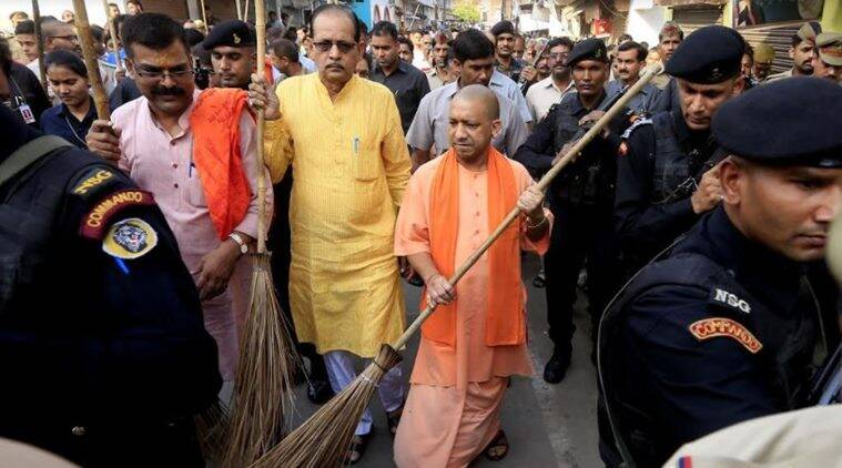 Uttar Pradesh, Yogi Adityanath news, Clean UP, Clean Uttar Pradesh news, Latest news, India news, National news, latest news, National news