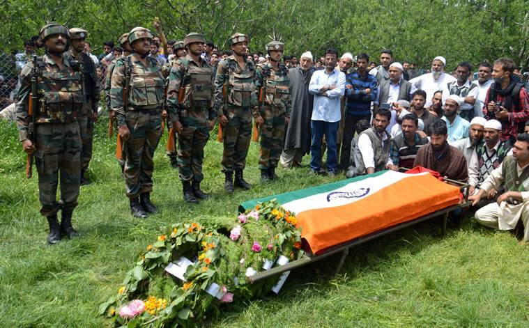 Umar Fyaz, Army officer, Lt Umar Fayaz, India News, Lashkar, Indian Army, Indian Express