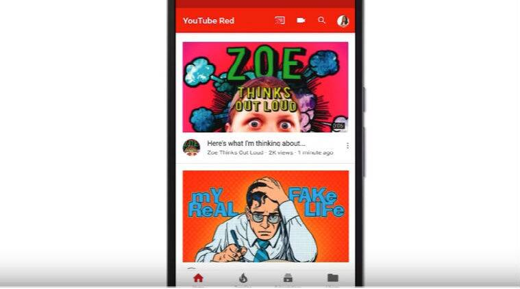 YouTube Android app, YouTube Android app UI, Android, YouTube app