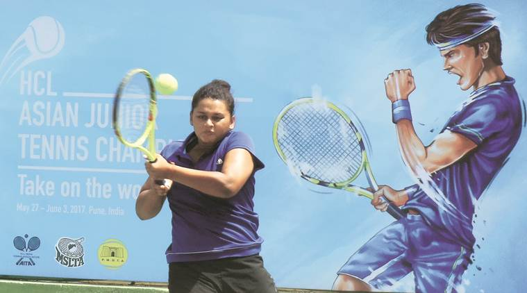 asian junior tennis meet, hcl junior tennis championship 2017, Yubarani Banerjee, indians in asia junior tennis, indian express