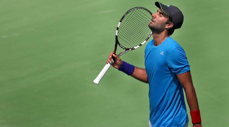 Yuki Bhambri, Yuki Bhambri news, Yuki Bhambri updates, Yuki Bhambri matches, Yuki Bhambri win, sports news, sports, tennis news, Tennis, Indian Express