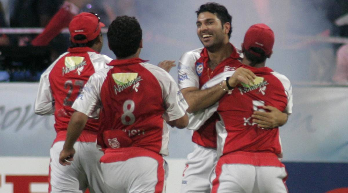 This day that year; Yuvraj Singh claims his first IPL hattrick ...