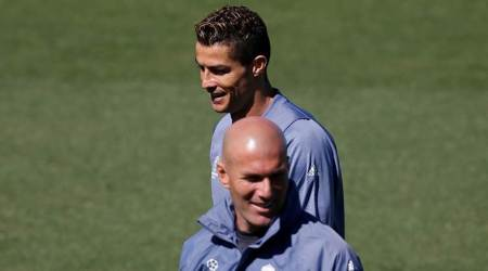 Cristiano Ronaldo will stay with Real Madrid for '2-3 years', says Zinedine Zidane