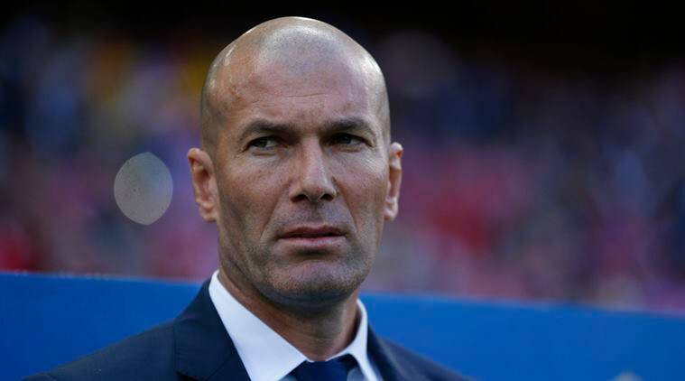 Zinedine Zidane, Zidane, Real Madrid, Atletico Madrid, Real vs Atletico, Cristiano Ronaldo, Ronaldo, Benzema, Isco, football, sports news, Indian Express