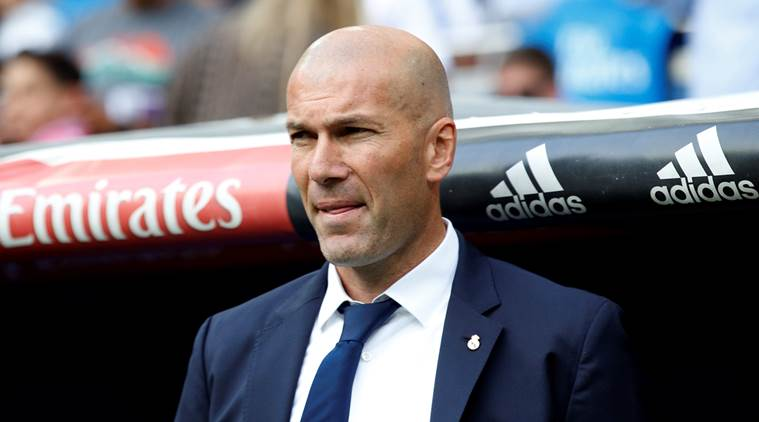 La Liga, La Liga title, Zinedine Zidane, Zidane, Real Madrid, Real, Madrid, Cristiano Ronaldo, Ronaldo, James Rodriguez, Keylor Navas, Navas, Rodriguez, Celta Vigo, football, sports news, Indian Express
