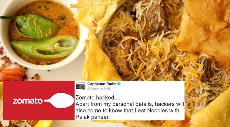 Zomato, Zomato breach, Zomato data stolen, Zomato security, Zomato app, zomato twitter reaction, zomato breach twitter reactions funny, indian express, indian express news
