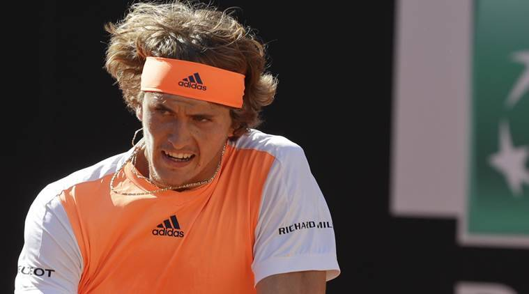 Alexander Zverev, Roland Garros, Novak Djokovic, French Open, Rafael Nadal, Boris Becker, Tommy Haas, Michael Stich, Dominic Thiem, sports news, tennis news, indian express