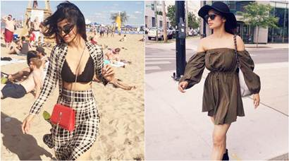 Akshay Kumar's heroine Mouni Roy's vacation photos are pure Gold. This Naagin is our bae