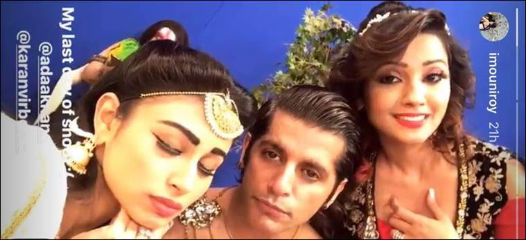 mouni roy, mouni roy naagin 2, mouni roy naagin wrap,