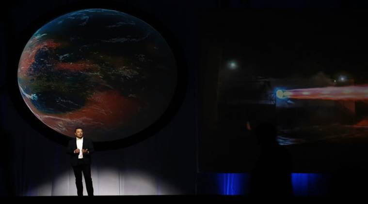 Elon Musk, SpaceX launch, Falcon 9 rocket, SpaceX CEO, Indian Express