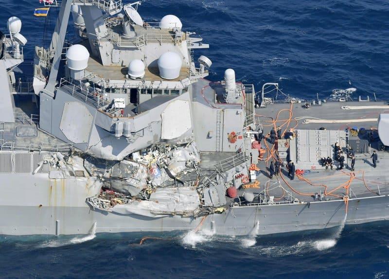 US navy ship collision news, US NAVY ship collides with merchants, US sailors missing, Missing US sailors, US ship collides with vessel, US news, World news, International news, World news