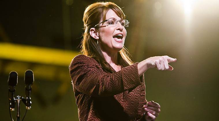 Sarah Palin, Sarah Palin New York Times, Sarah Palin Sues, New York Time sued, Indian express, India news