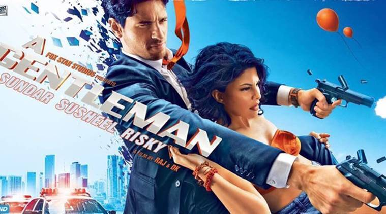Sidharth Malhotra, A Gentleman posters, A Gentleman, Jacqueline Fernandez, Sidharth Jacqueline, Sidharth Jacqueline film