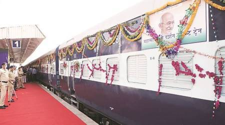 100 years of Sabarmati Ashram: Gandhi Darshan tourist train flagged off with 623 onboard