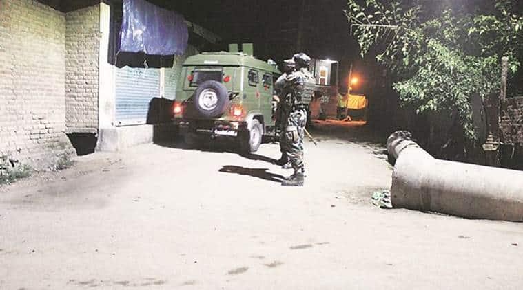 South Kashmir Militant Attack, Kashmir Militant Attack, Jammu and Kashmir Militant Attack, Kashmir, India News, Indian Express, Indian Express News