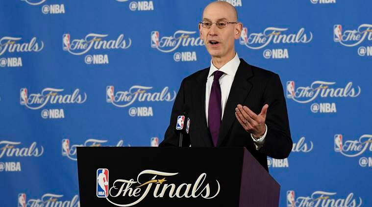 NBA, Adam Silver, Oakland, Yao Ming, Basketball World Cup