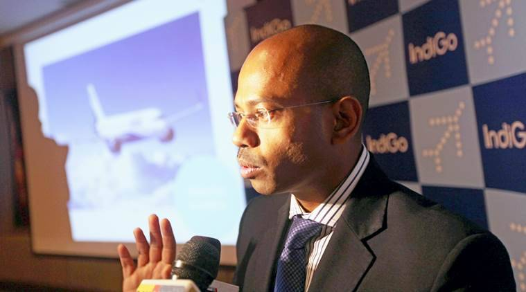 air india, air india privatisation, air india disinvestment, indigo, indigo president Aditya Ghosh,