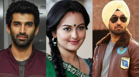 Sonakshi Sinha, Aditya Roy Kapur and Diljit Dosanjh to team up for a film