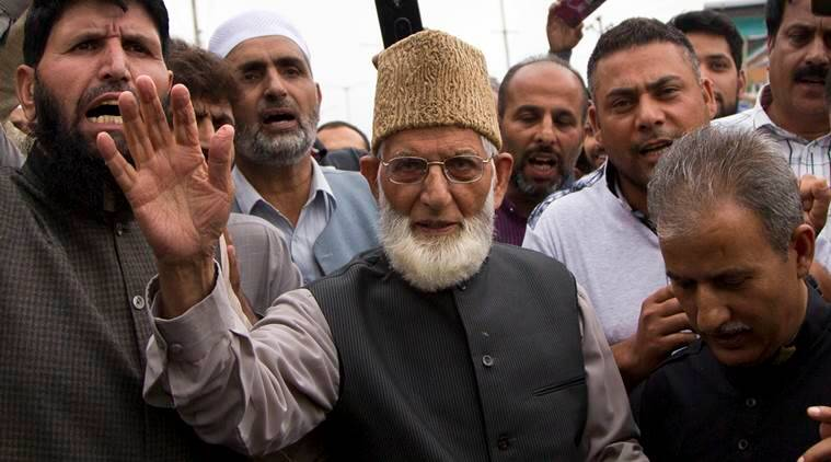 Farooq Abdullah, Pakistan Occupied Kashmir, PoK, jammu and Kashmir, Kashmir, Syed Ali Shah Geelani, separatists, jammu and Kashmir separatists, Indian Express
