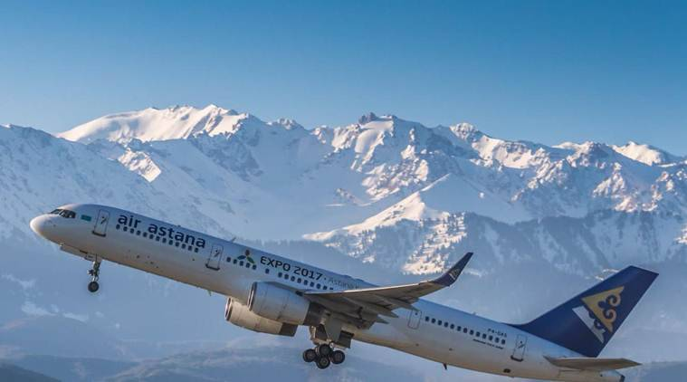 Air Astana, Kazakh national carrier, Kazakhstan national carrier, Kazakhstan, Business News, Indian Express, Indian Express News