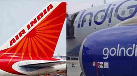 Air India aircraft brushes against Indigo plane rudder at Mumbai airport