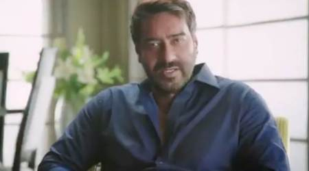 Ajay Devgn joins hands with Mumbai Police to educate fans about e-banking fraud and security. Watch video