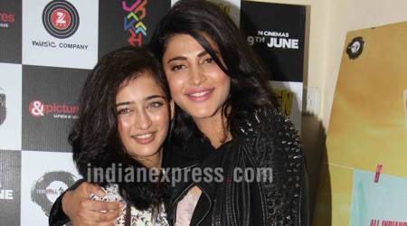 behen hogi teri, akshara haasan, shruti haasan, kamal haasan daughters, star kids,